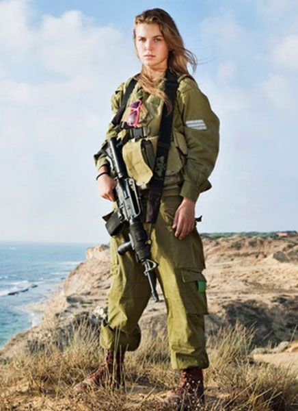 More Israeli female soldiers fought in Gaza than in past