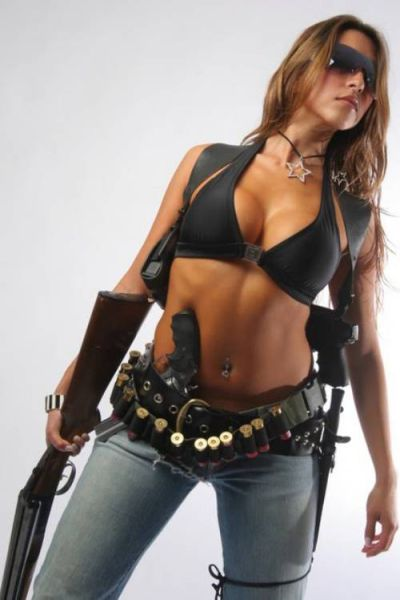 These Hot Ladies Are Armed and Ready for Action