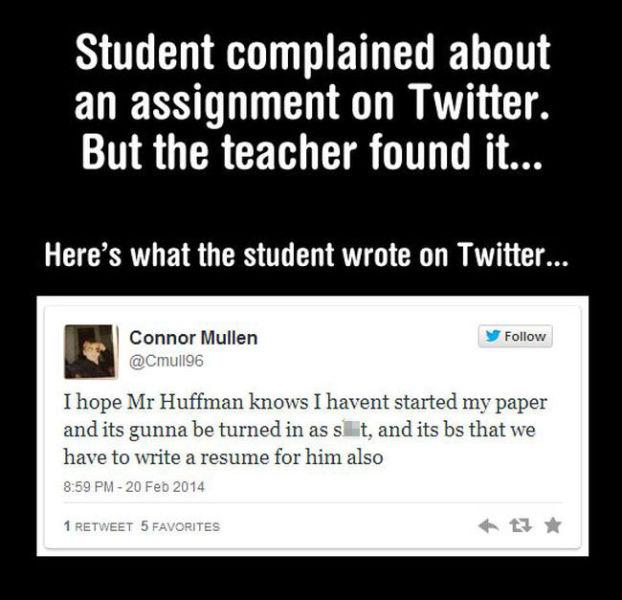 This Teacher Definitely Had the Last Word