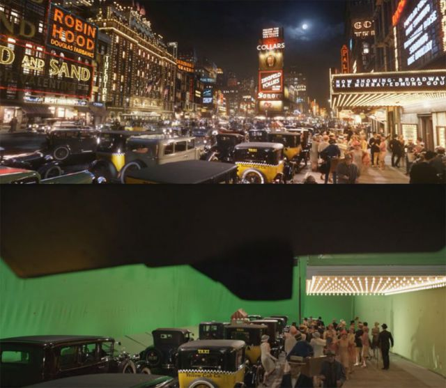 Behind-the-scenes Pics of Movies with Visual Effects