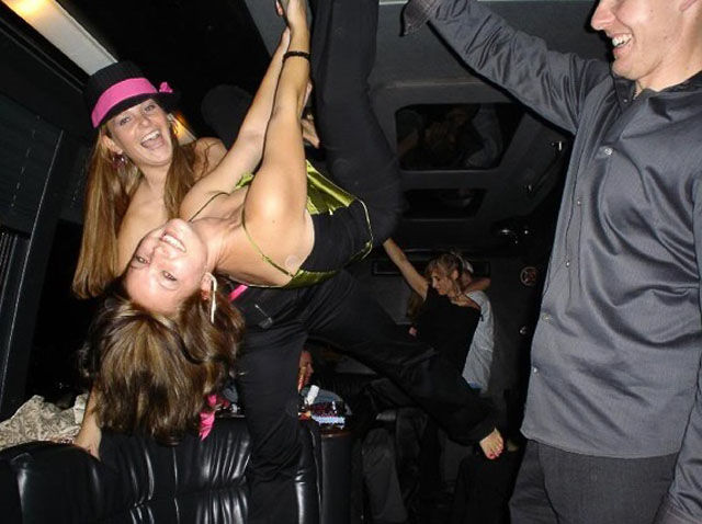 When Girls Get Drunk They All Wanna Pole Dancing
