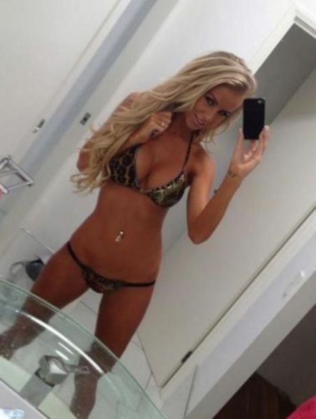 Girls Take Selfies to the Next Level of Hotness