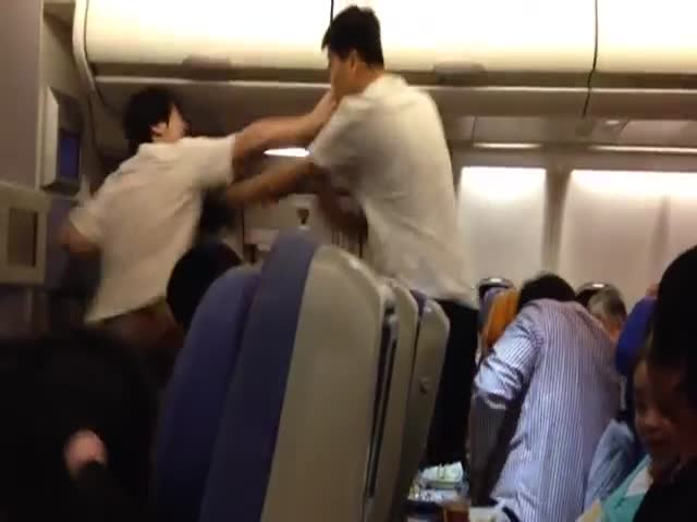 Chinese Airplane Fight with Accurate Subtitles