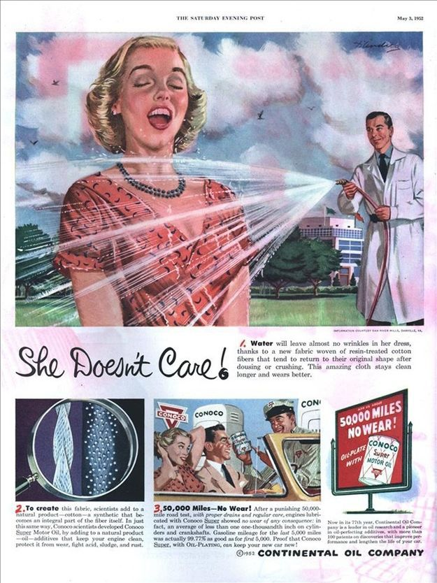 Adverts from the Old Days Used to Be Pretty Damn Sexist
