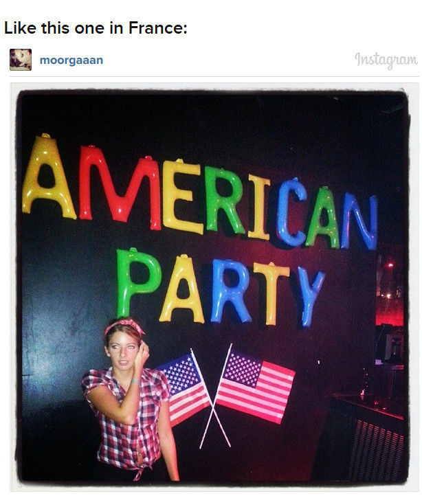 How Other Countries Throw an American Themed Party