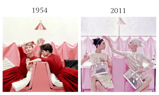 Modern Day Rip-Offs of Vintage Fashion Photography