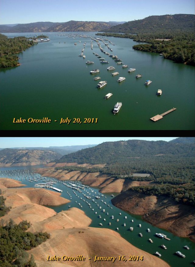 Photos Show How Drought Has Wrecked California