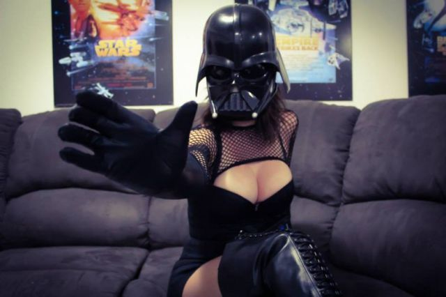 Darth Vader Cosplay That Is Smoking Hot