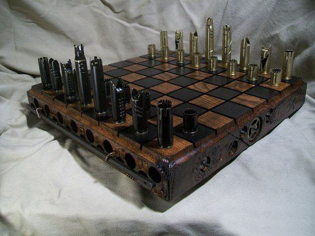 An Awesome Chessboard That Is Totally Bad-Ass