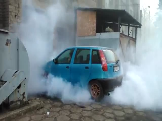 Epic Burnout Fail  (VIDEO)