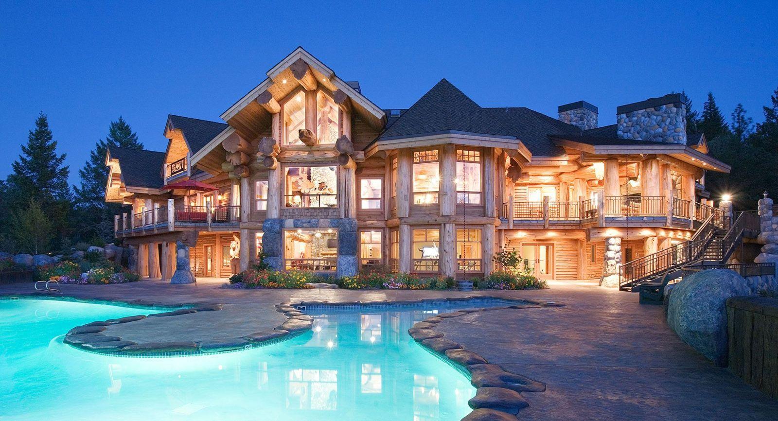 Очень красивые дома фото