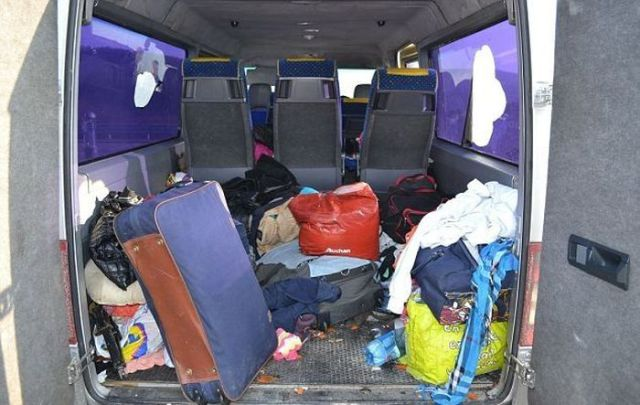 You Won't Believe How Many Romanian Gypsies Are in This Van