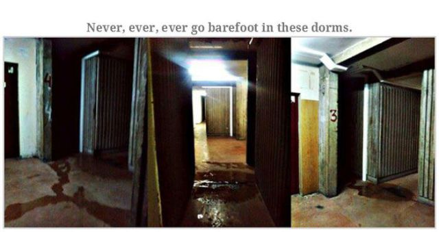 A Student Dorm That Could be Straight Out of a Horror Movie