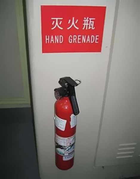 Funny Examples of Translation Fails