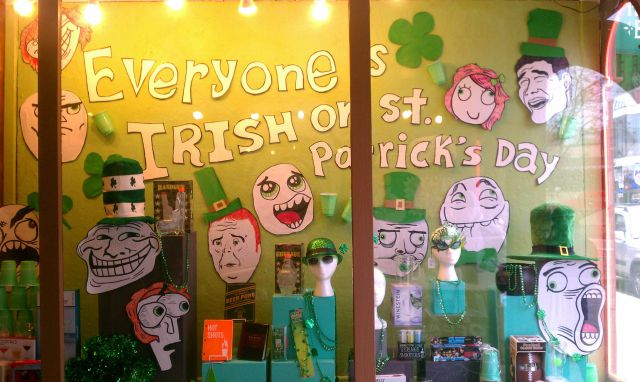 A Photo Tribute to St Patrick's Day Day Fun!
