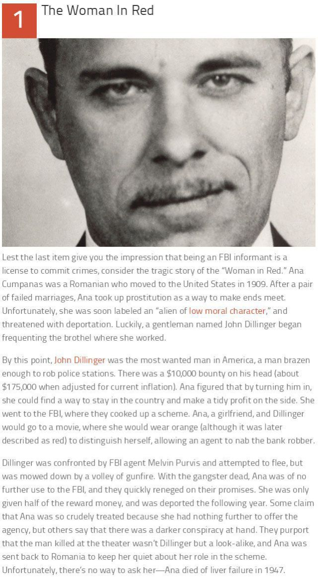 The Top 10 Lesser Known Facts about the FBI