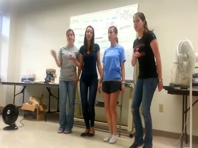 Pretty Cool Female Barbershop Quartet