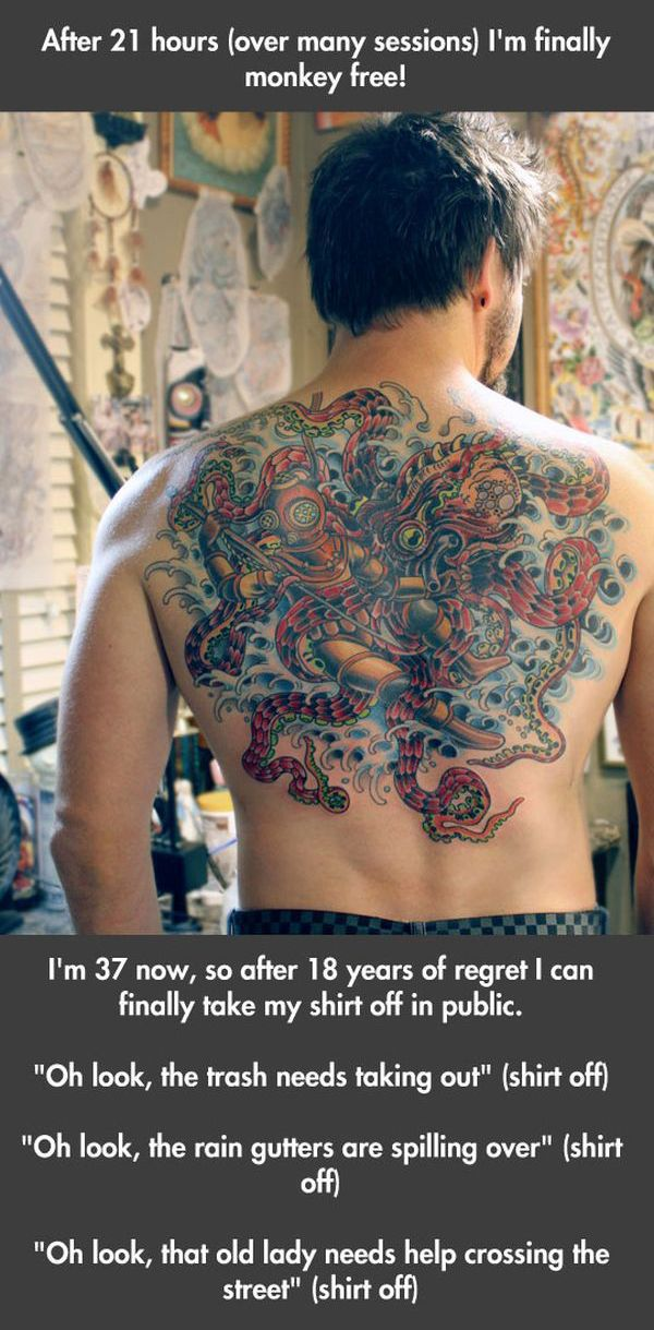A Brilliant Fix for Major Tattoo Fail