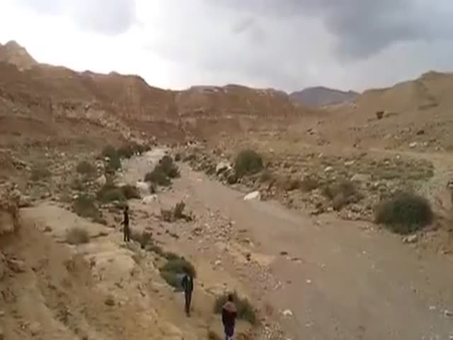 Rebirth of Zin River in Israeli Desert  (VIDEO)