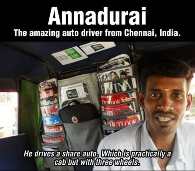 A Remarkable Indian Bus Driver
