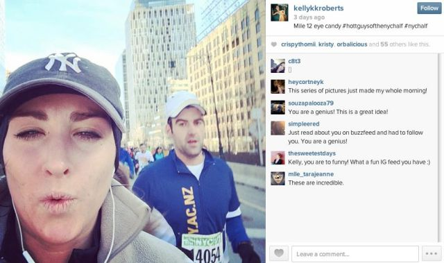 Runner Finds an Interesting Way to Make Marathon Run Fun