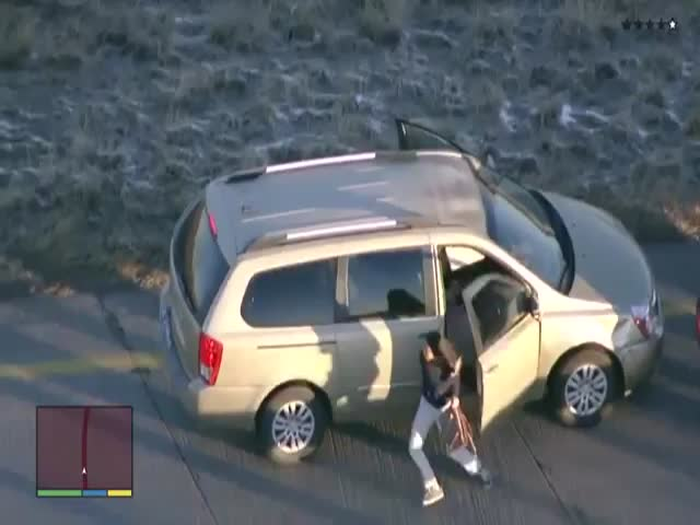 Colorado Carjacker Gets the GTA Treatment  (VIDEO)
