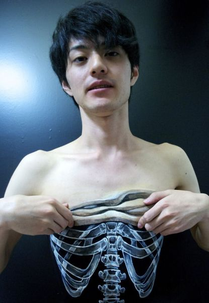 Amazingly Realistic Japanese Body Art by Hikaru Cho