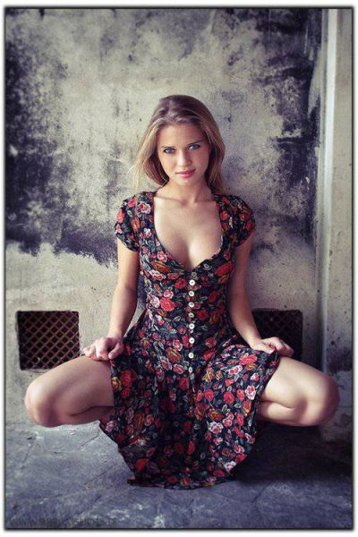 6ef8dabc974 Sexy Girls in Sundresses for Spring (41 pics) - Izismile.com