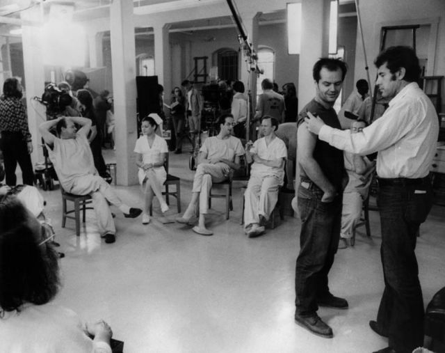 Backstage Photos Taken from the Different Film Sets