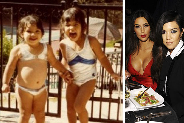 Candid Childhood Photos of Famous Faces