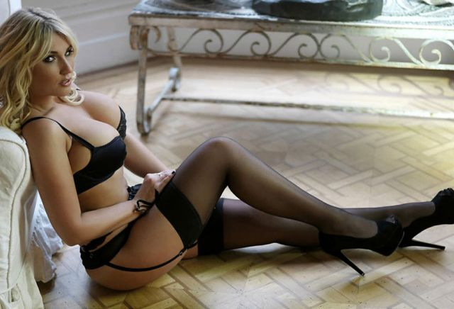Scantily Clad Women in Sexy Lingerie
