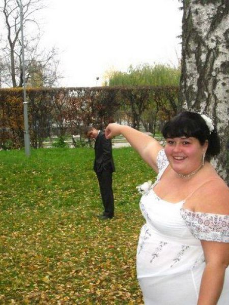 Some really funny pictures from Russian weddings