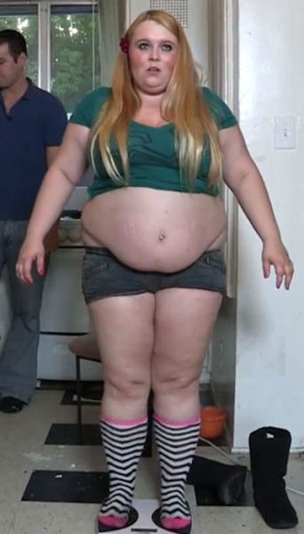 The Girl Whose Goal Is to be Obese