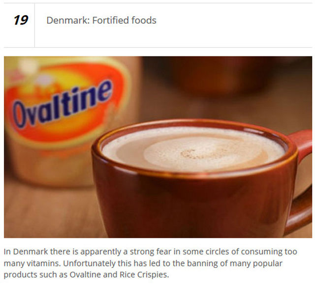 Bizarre Things That Have Been Banned by Governments Worldwide