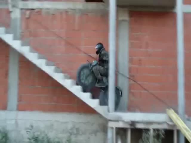 Ingenious Russian Portable All Terrain Motorbike