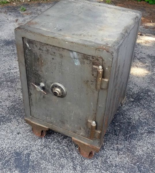 A Mystery Safe's Disappointing Contents
