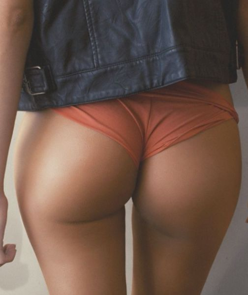 Now That's What You Call a Booty Shot