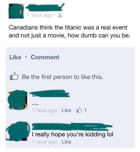 Embarrassing Facebook Fails