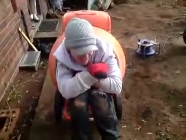 How to Have Fun with a Cement Mixer