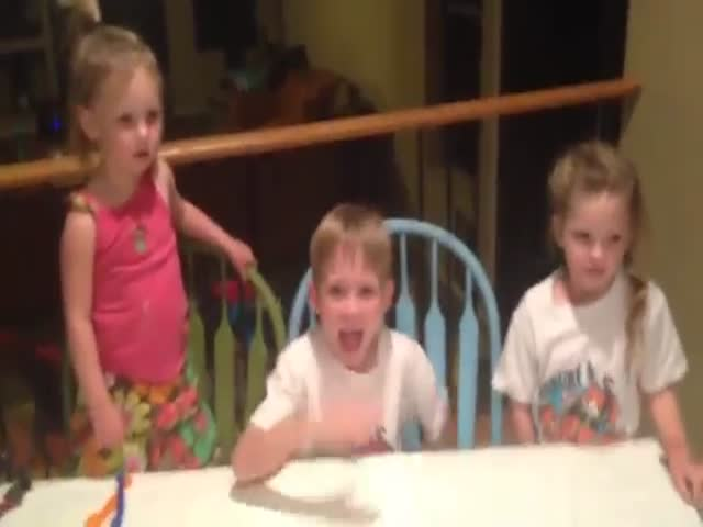 Kid's Funny Meltdown as He Learns He's Getting Another Little Sister