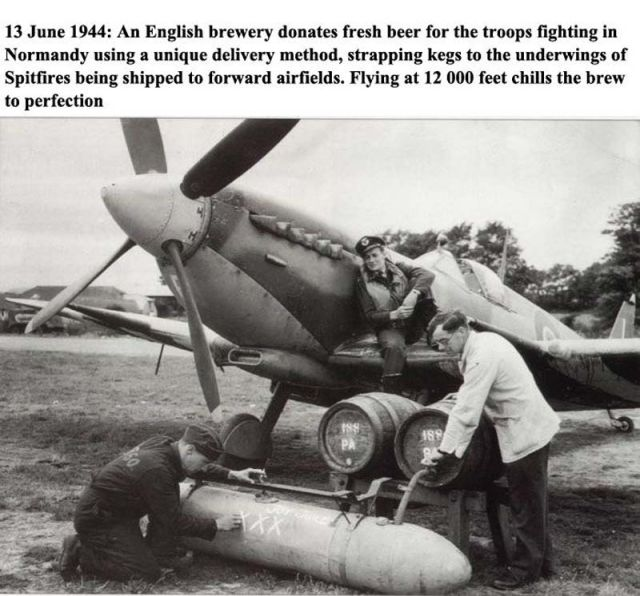 How Beer Was Delivered During WWII
