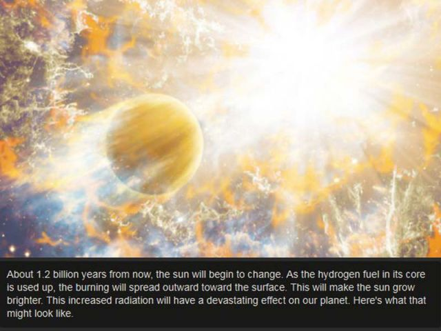 What Will Actually Happen to Earth When the Sun Dies