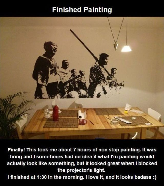 How to Paint Your Own Samurai Wall Still