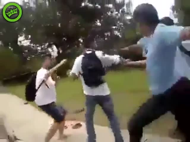 Bully Gets Taught a Lesson