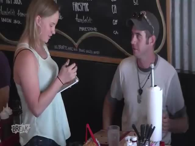 Waitress Receives Life-Changing Tips during Shift  (VIDEO)