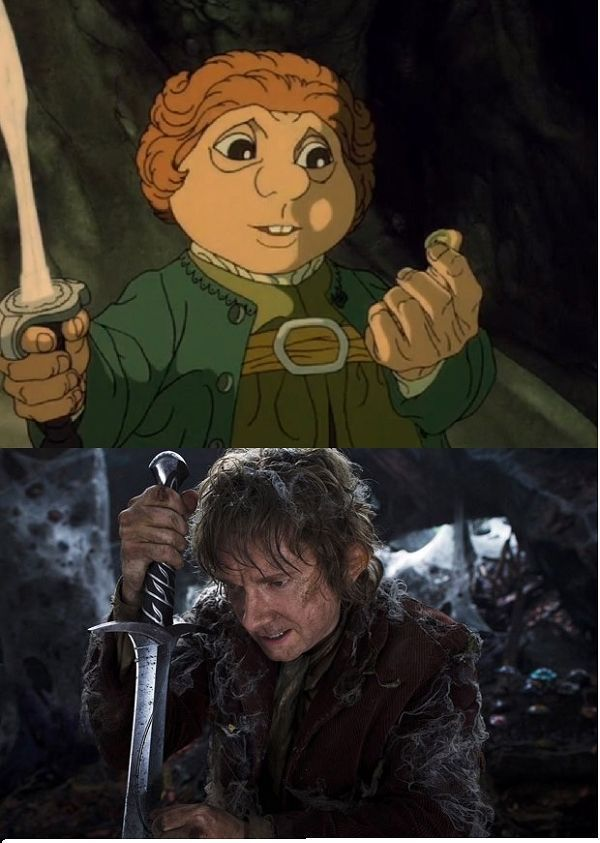 "A Comparison of the ""The Hobbit"" from 1977 vs. 2012"