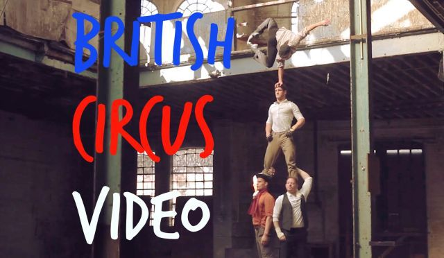 Breathtaking Circus Performance in an Abandoned Factory