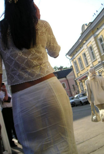See-Through Clothes Are Every Guy's Dream