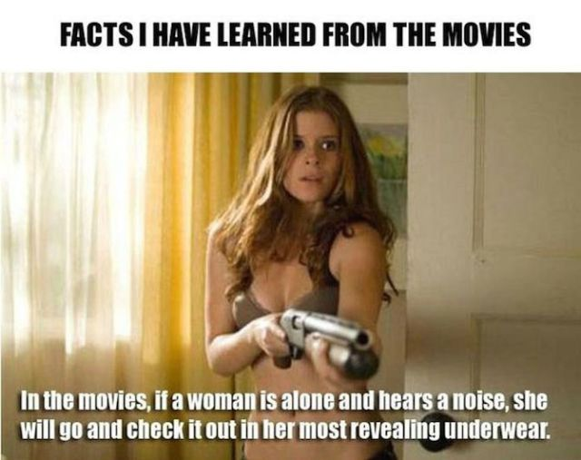Things That Happen in the Movies That You Won't See in Real Life