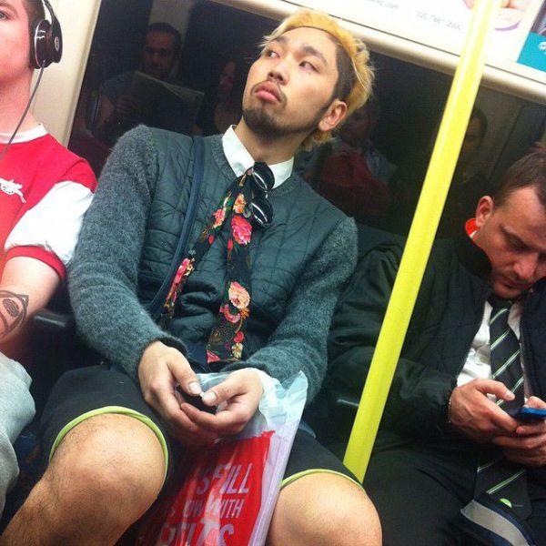 London Underground Is Full of Crazies